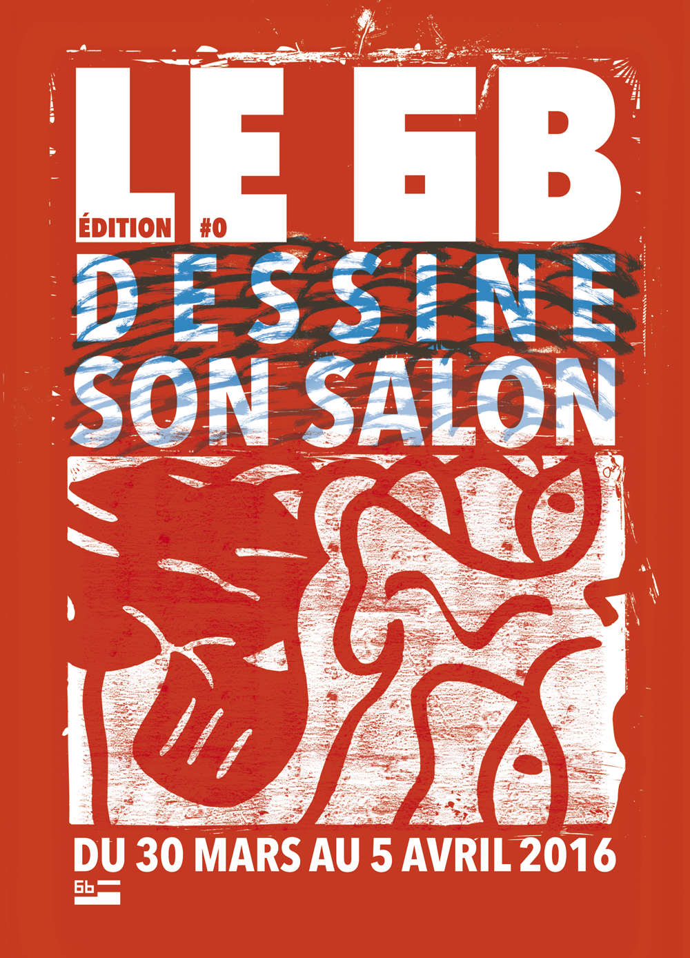FLYER-A5--RECTO-LE-6B-DESSINE-SON-SALON---ROUGE